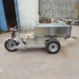 厂家小型电动三轮车 工地搬运三轮翻斗车 农用自卸翻斗车