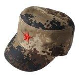 小海軍兒童軍品紅五角星軍帽刺繡荒漠迷彩平頂帽男女款