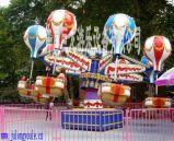 许昌巨龙游乐设施桑巴气球游乐设备厂家价格