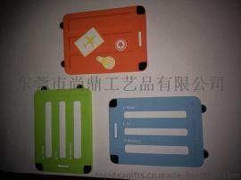 登机牌定制 行李牌 软胶行李牌 可爱卡通行李牌 PVC软胶行李牌