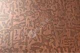 高比304#彩色不鏽鋼板 拉絲紅古銅發黑不鏽鋼板