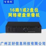 16路2盘位网络硬盘录像机NVR-深圳监控设备厂家批发
