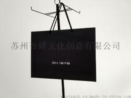 黑卡纸袋 服装服饰包装 烫金纸袋