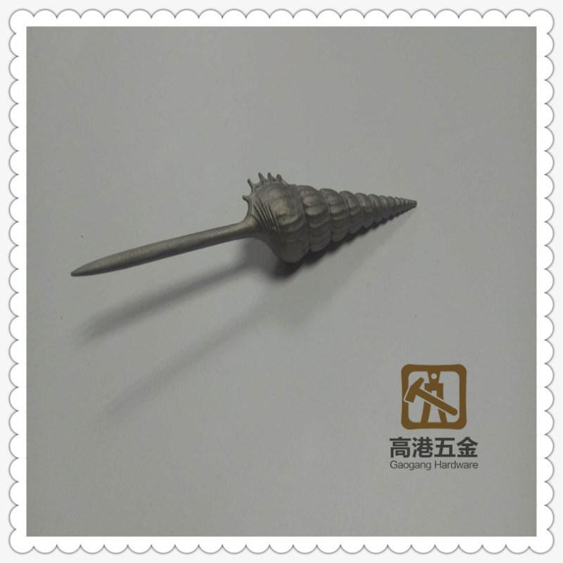 高端定制304不锈钢工艺品 欧美饰品 创意海螺