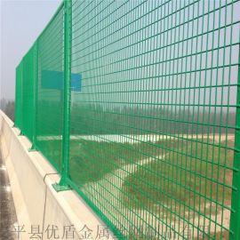 供应淮北市桥梁防抛网高速护栏网绿色防落网厂家