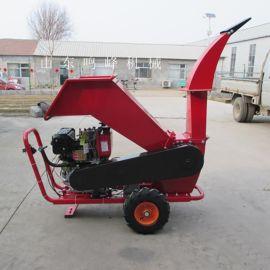 树枝修剪处理粉碎机,汽油动力树枝粉碎机