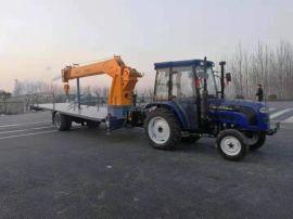 新型农用拖拉机牵引吊车
