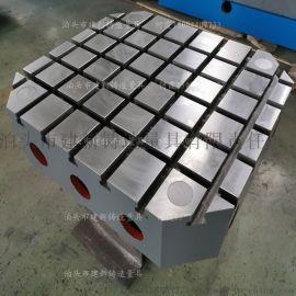 铸铁地轨基础槽铁 条形平台 采用高强度灰口铸铁铸造