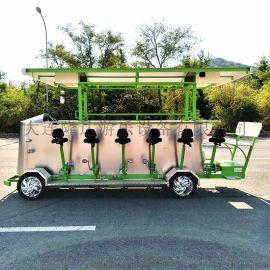 新款15人旅游电动观光车,观光自行车,观光车