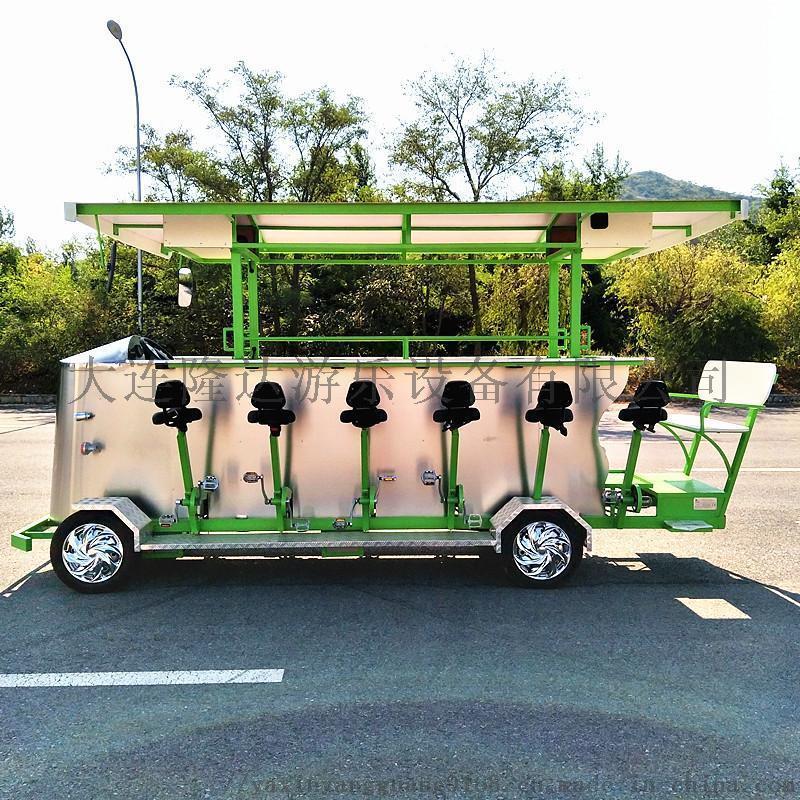 新款15人旅遊電動觀光車,觀光自行車,觀光車