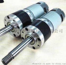 直径57mm行星齿轮箱配RS997减速电机