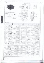 德丰DEFOND Rotary switch AYA-2315旋转开关
