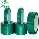 东莞【常丰】供应 耐高温、高粘性绿胶 铝材专用绿色高温胶带