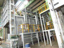 燃气热处理炉, 天然气台车炉