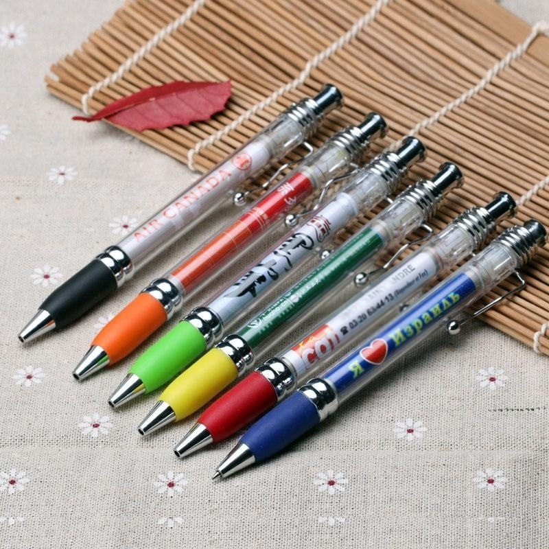 廣告拉紙筆拉畫筆圓珠筆 展會禮品筆拉畫筆定製