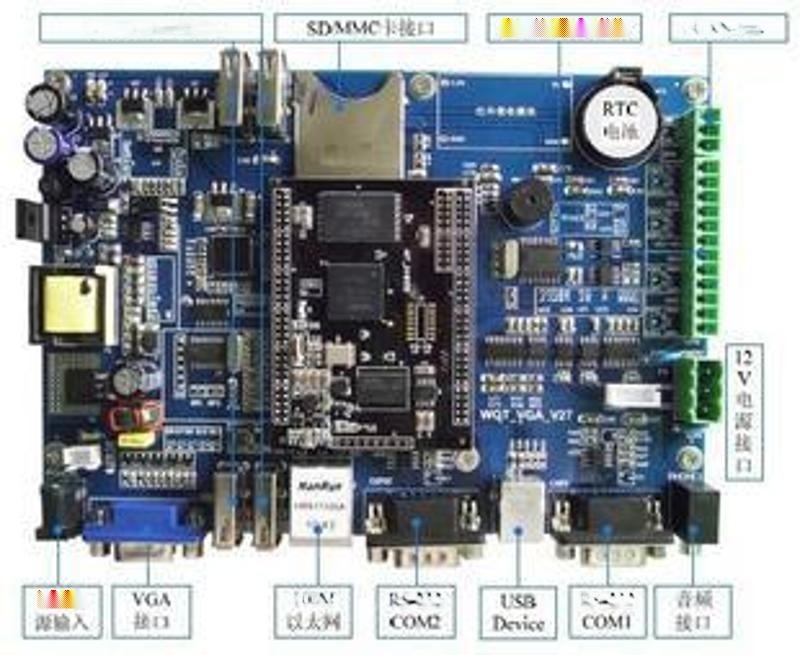 WINCE工業串口屏 嵌入式工控一體機單板機工控主板 廠家直銷