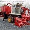 圆盘式青储机 牵引式多功能玉米青贮收割机