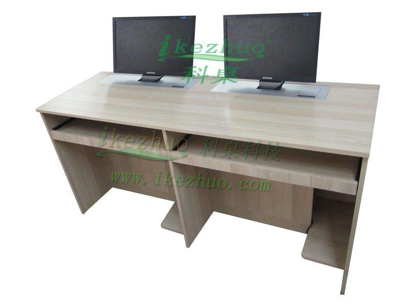K18升降电脑桌 液晶屏升降器电脑桌 会议升降电脑桌 政府机构升降电脑桌 部队培训电脑升降桌