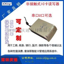 Q8-U200庆通工业级IC卡读写器充电桩刷卡器