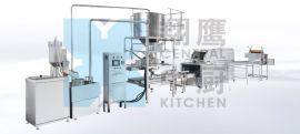 翔鹰150联合自动米饭机生产线节能远红外线米饭机