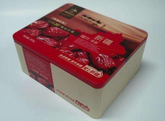 供应新疆红枣铁盒 狗头红枣礼盒 农副产品包装盒专业生产