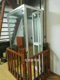 轮椅升降机四五人家用电梯导轨式升降机启运本溪市厂家