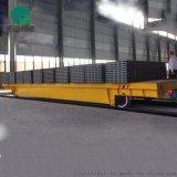 電動平板車自動噴砂房鏤空檯面軌道車