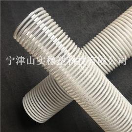 pu塑筋螺旋增强软管 车间抗静电软管 塑料波纹软管
