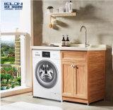 中山捷龙建材厂家直销太空铝洗衣柜阳台洗衣柜