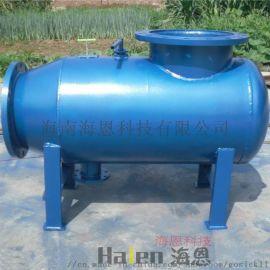 海南海恩自动除污器构成