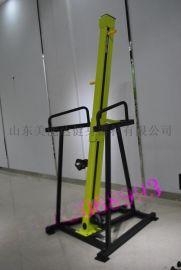 河南健身器材供应攀爬机楼梯机椭圆机A健身房器械
