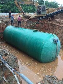环保储水罐玻璃钢化粪池专用化粪池安装方法