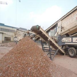 山东移动式破碎机生产厂家 移动破碎站价格