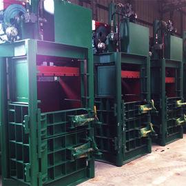 佛山棉纱压包机 80吨立式液压打包机 服装打包机