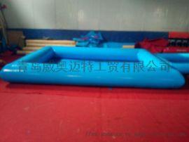 厂家直销Pvc充气泳池户外充气泳池儿童乐园