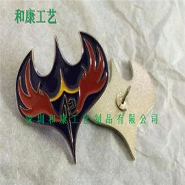 金属冲压徽章周边游戏logo徽章高尔夫娱乐标志徽章