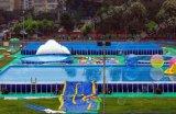 雲南室內室外都可移動重裝的支架遊泳池