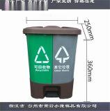 中國模具公司雙桶垃圾桶注塑模具源頭工廠