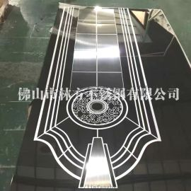 佛山厂家定做 电梯装饰304镜面不锈钢蚀刻板