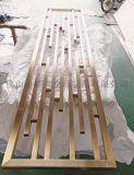 厂家定制不锈钢屏风木纹转印 装饰不锈钢屏风隔断