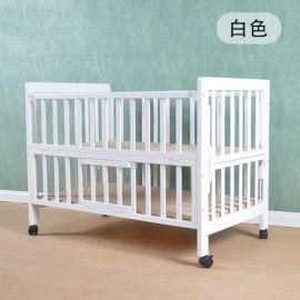 简约现代实木婴儿床儿童床新生儿宝宝床摇篮床多功能