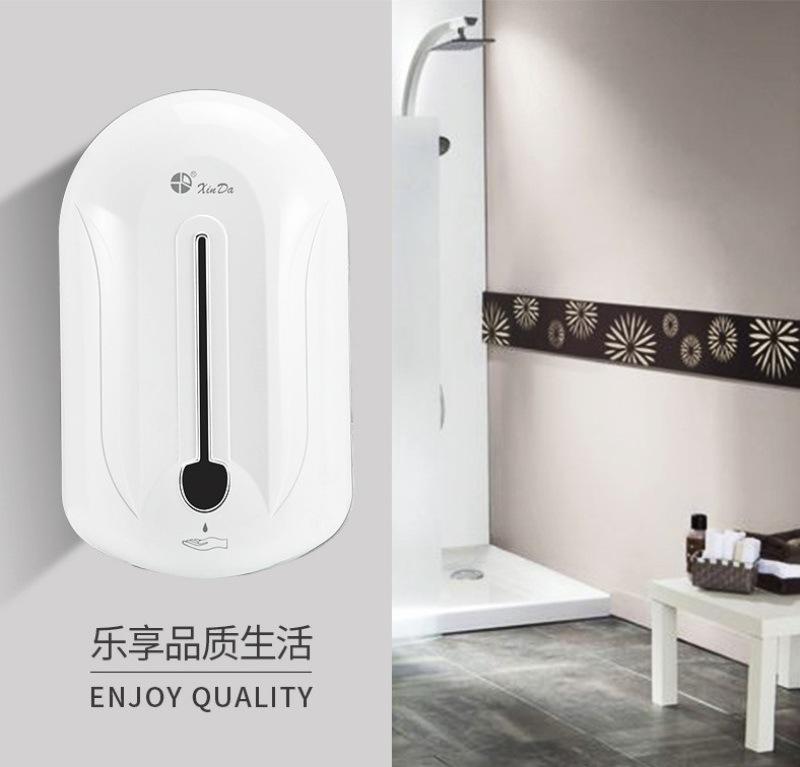 衛生間消毒皁液器免洗手液機信達品牌廠家直銷