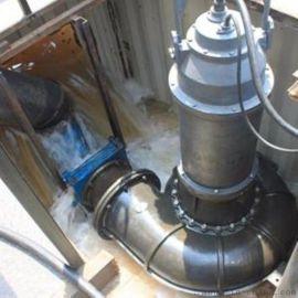 大流量排污泵/精铸不锈钢潜水排污泵/大型污水泵