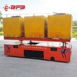 烤漆房85吨电动平板车 电动地平车