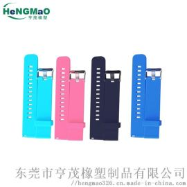 供应22MM硅胶表带,适用于华为小米运动手表表带