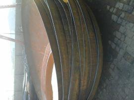 椭圆形碳钢压力容器大口径封头2600mm