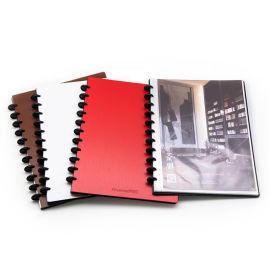 A4资料册20页蘑菇孔资料册乐谱图档收纳册
