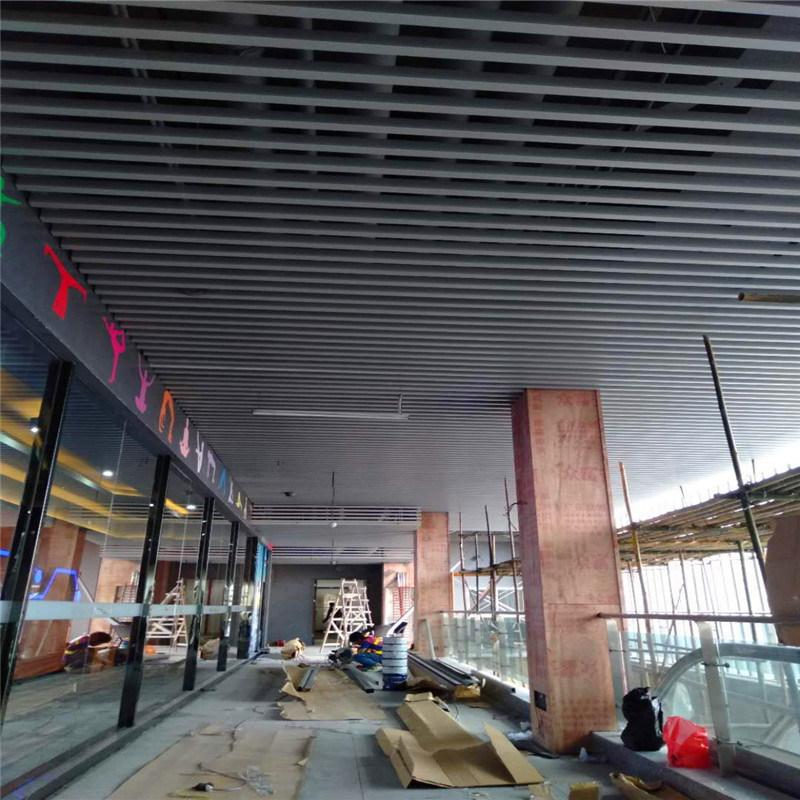 仿古木纹铝方通厂家 吊顶铝方通商家