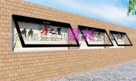 山西宣传栏厂家 山西园林宣传栏制不锈钢烤漆宣传栏