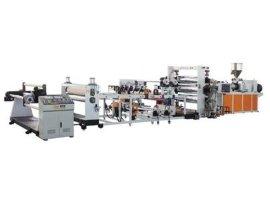 PP/PS/PE/ABS/GPPS同向平行双螺杆片材挤出生产线设备